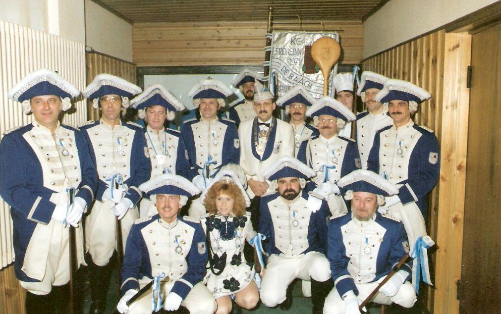 Männergarde 1988